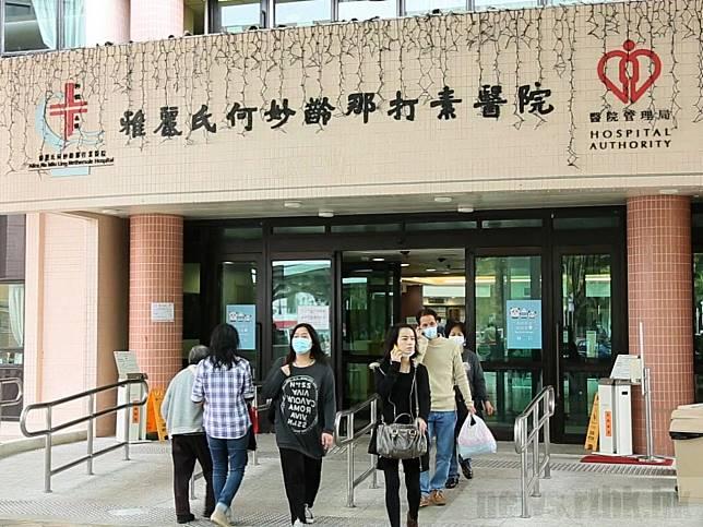 大埔那打素醫院的關節置換次數,由2014年的67次增加至2018年的334次,成為全港做最多關節置換手術的醫院。(港台圖片)