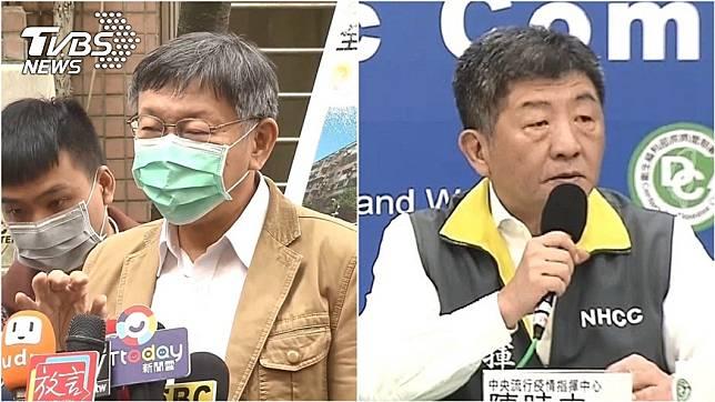 台大醫師許立民認為,雖然現在全民「順時中」,但應該聽台北市長柯文哲提出的這點建議。(圖/TVBS資料畫面)