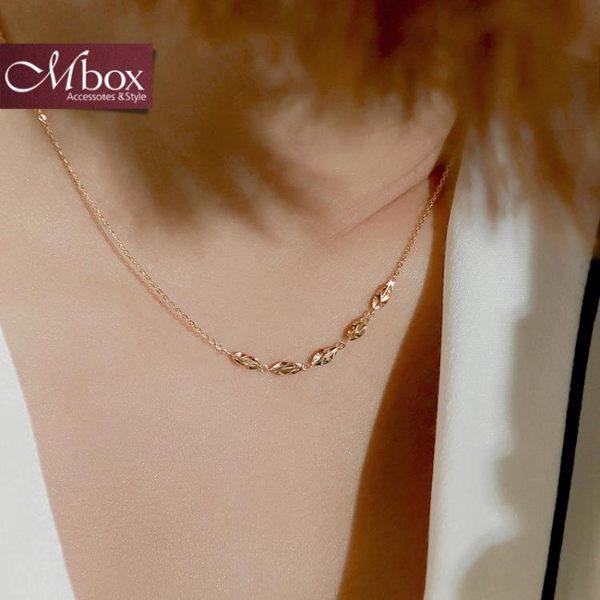 925純銀項鍊女 短款日韓簡約時尚個性鎖骨鍊金色氣質百搭網紅飾品