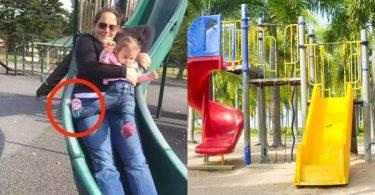 帶小孩溜滑梯,無保護效果反而更容易受傷!