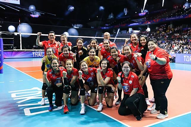 ส่งใจไปเชียร์ นักตบสาวไทย วอลเลย์บอลหญิง เนชั่นส์ ลีก 2019 สนามสุดท้าย 18-20 มิ.ย.ที่รัสเซีย