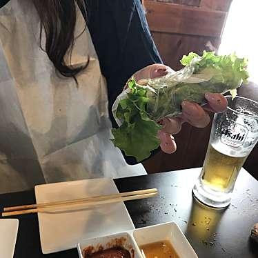 実際訪問したユーザーが直接撮影して投稿した大久保韓国料理コギちゃん 新大久保店の写真
