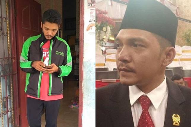 Kisah Erwin Siahaan, Driver Ojol yang Diusir Satpam Saat Akan Dilantik jadi Anggota Dewan: Istri dan Anak Saya Pakai Bentor