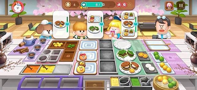 甜點款式五花八門,玩家要有超強的頭腦和手眼協調能力,才能成功過關。