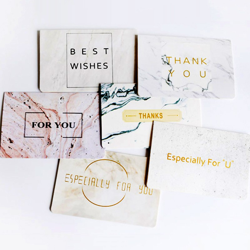 [現貨]燙金大理石紋 特別為你祝福賀卡 情人節卡片 卡片 小卡【JC3152】《Jami Honey》