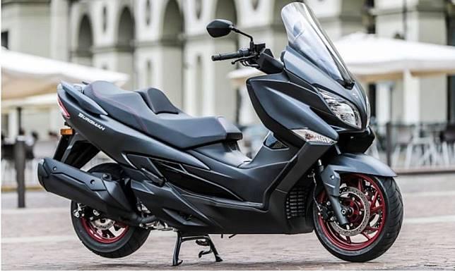 Ilustrasi, Suzuki Burgman 400
