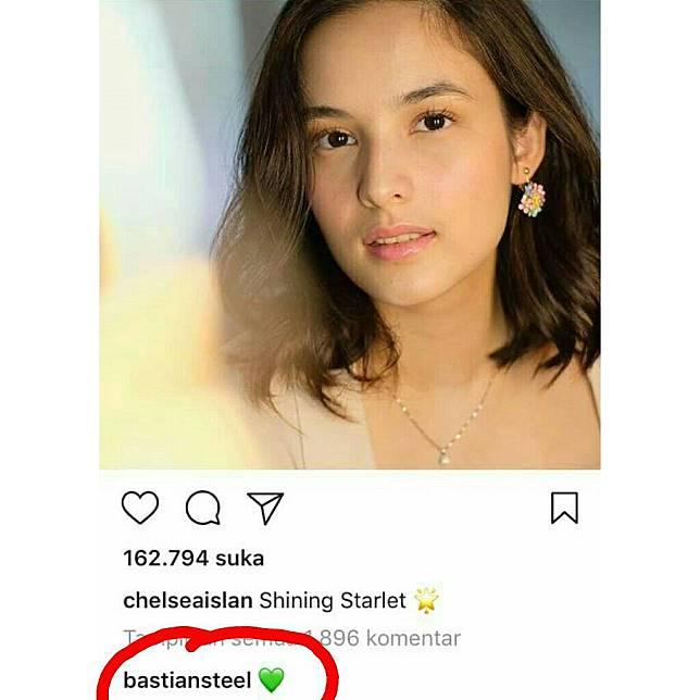 Heboh Kabar Chelsea Islan Pacaran Dengan Bastian Steel Netizen Sampai Buat Hashtag Aksibelaislan Tribun Style Line Today