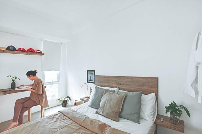Apartemen keren dengan Design furniture Custom Seluas 24 M