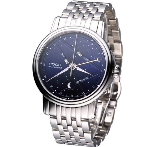 epos Emotion 星座月相盈虧 機械腕錶 3391.832.20.16.30
