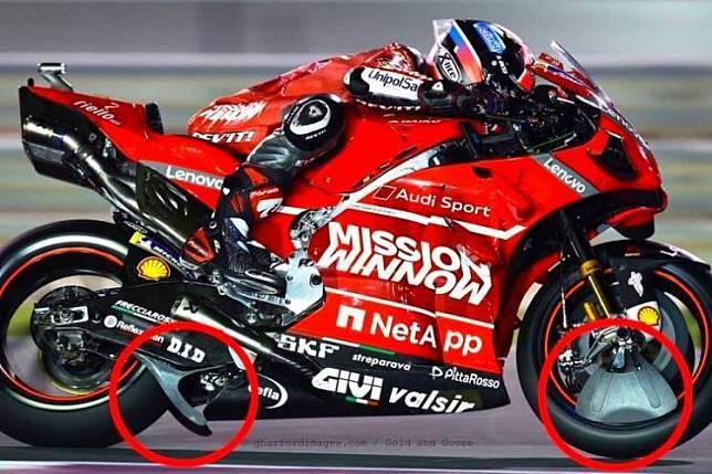 Inilah 3 Kemungkinan Putusan Banding Perangkat Aero Milik Ducati