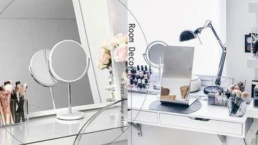 PTT、Dcard網友好評「化妝鏡」推薦!LED款、輕巧型通通有,最後一款回購率超高!
