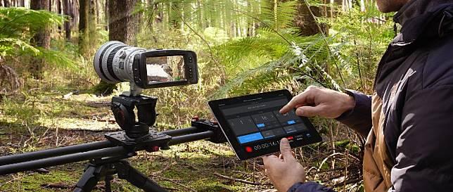 支援《Blackmagic Camera Control》App,在戶外利用平板遙控拍攝一流。(互聯網)