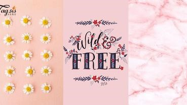 少女心爆發!10張全粉紅色桌布,女生就是愛被粉紅色包圍啊~