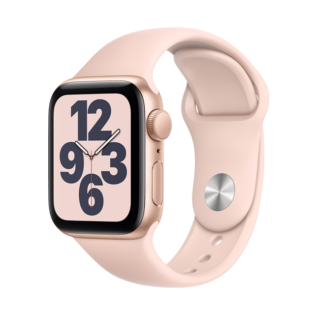 ● GPS ★ 粉沙色運動型錶帶• GPS 錶款能讓你在腕上打電話與回訊息• 大尺寸 Retina OLED 顯示器• 處理器速度最快可達 Series 3 的 2 倍• 可在 Apple Watch