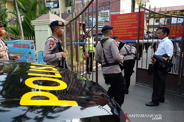 Bom Medan dan sejumlah teror bom di markas polisi