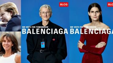 Balenciaga春夏廣告太狂了!「德國總理御用攝影師」掌鏡,打造最佳政治人物宣傳範例