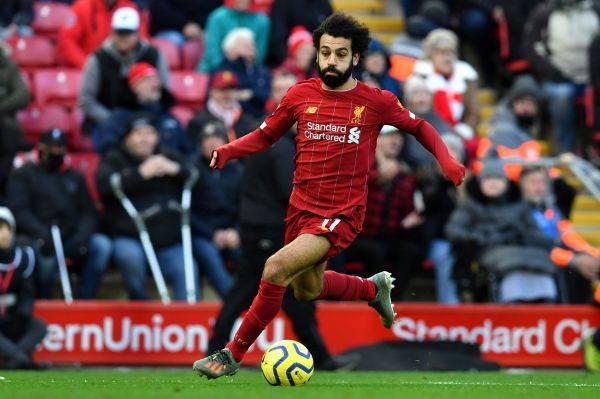 Mohamed Salah menjadi pahlawan lIverpool dengan dua gol saat mengempaskan Watford