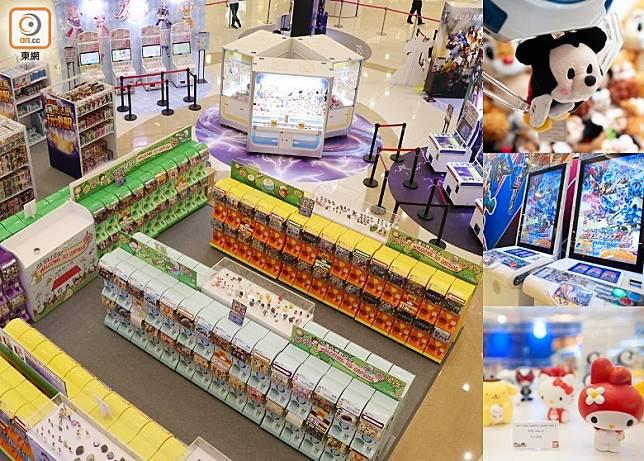 《復活節玩樂駅》結集了扭蛋、遊戲機、夾公仔、卡Game和玩具精品5種小朋友的浪漫。(互聯網)