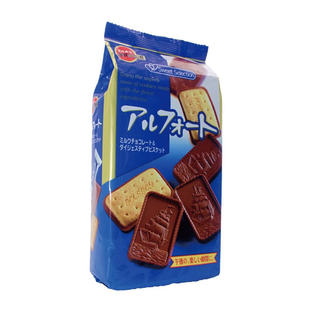 商品名稱 Bourbon 北日本帆船巧克力餅乾(111.1g) 品牌 Bourbon北日本 種類 餅乾 包裝方式 一般包裝 品牌國別 日本 保存方法 夏天建議需一般冷藏 內容物成份 小麥粉.砂糖.全脂