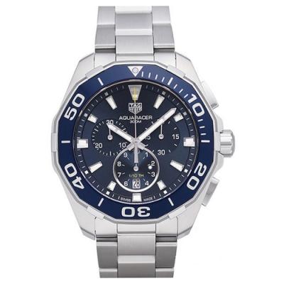 原廠公司貨 300米防水 旋入式表冠 配備藍寶石水晶鏡面 陶瓷計時錶圈搭配不銹鋼表帶 CAY111B.BA0927