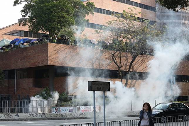 Hong Kong protests: 'Rioters' tried to shoot us with arrows, police say as fourth day of mayhem hits city