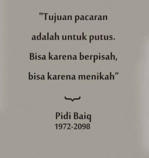 quotes quotes karya pidi baiq yang bisa bikin galau lo ngga kelar