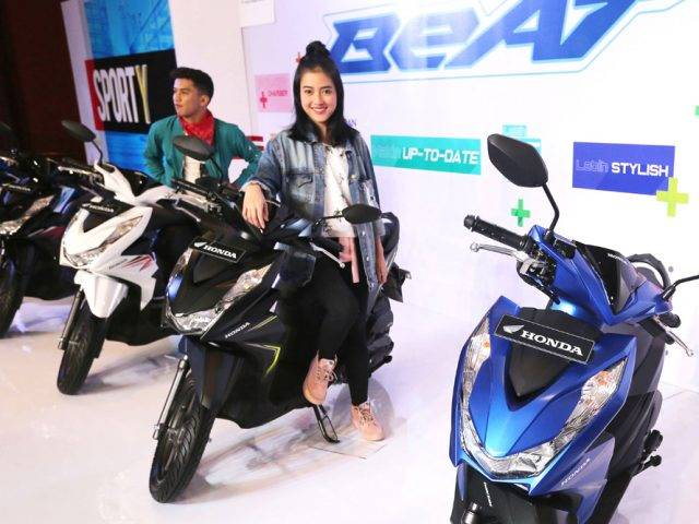 Luncurkan Beat Terbaru, Honda Perkuat Segmen Entry Level