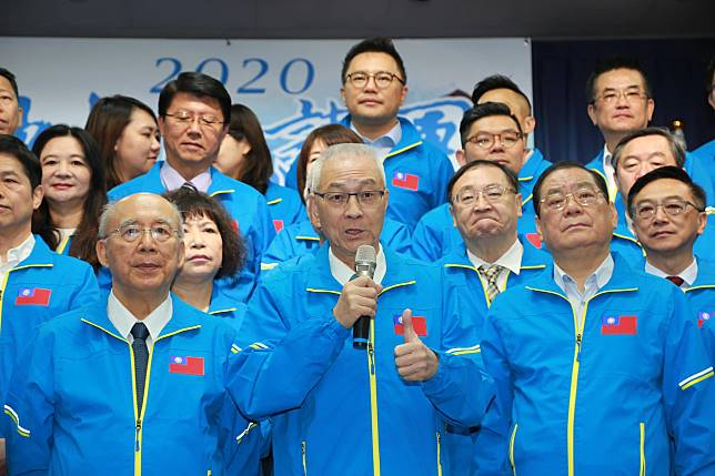 國民黨主席吳敦義。( 圖 / 國民黨提供 )