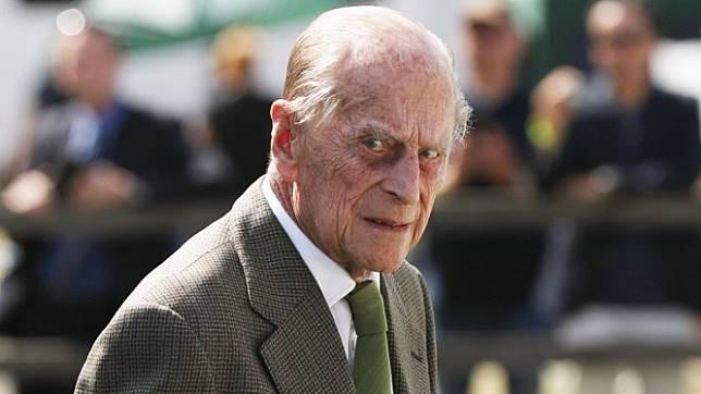 Pangeran Philip saat dipotret pada 24 Juni 2018. - PA