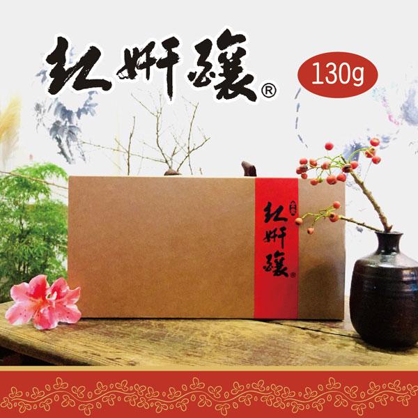 《紅妍釀》手工牛皮禮盒(130g/瓶,共6瓶)