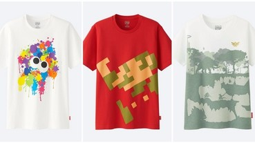 UNIQLO UTGP「全球T恤設計大賽」募集全球創意,萬件任天堂作品精選25件,內涵台灣之光喔!