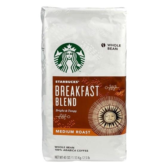 #星巴克 #Starbucks #咖啡豆 #早餐綜合咖啡豆 #1.13公斤 #coffee #coffeebean #混豆 *每包1.13公斤 *產地: 美國 *中度烘焙,溫和清爽 *沖煮時再將咖啡豆