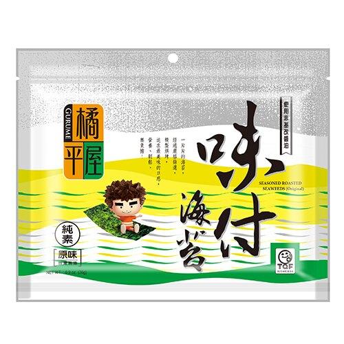 J-橘平屋味付半切海苔-原味26g【愛買】
