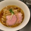 鶏そば - 実際訪問したユーザーが直接撮影して投稿した西早稲田ラーメン専門店らぁ麺やまぐちの写真のメニュー情報