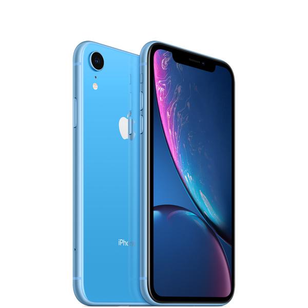 iPhone XR。哪一面,都耀眼。全新「Liquid Retina 顯示器」,是業界最先進的 LCD;更快速的 Face ID;智慧型手機中,最聰明強大的晶片;革新突破的相機系統;具備全螢幕設計、i