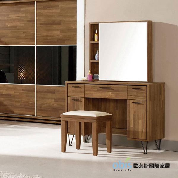 OB003-洛爾納3.3尺化妝鏡台組(19CM/575-3)【DD House】