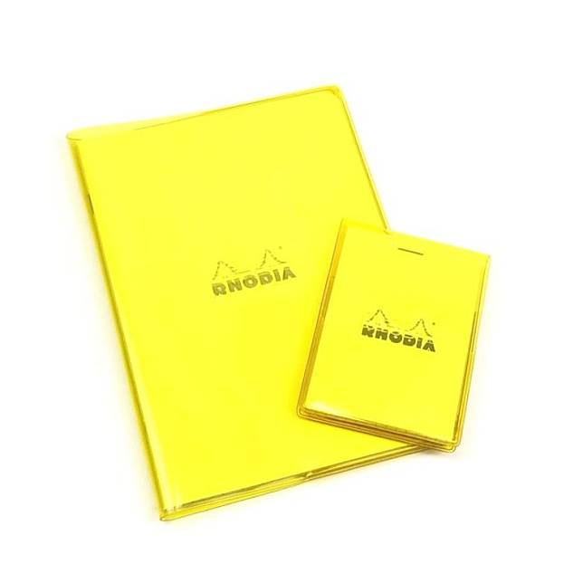 RHODIA螢光書套筆記本,亦屬LoFt限定。(互聯網)
