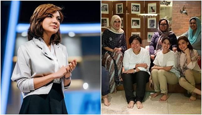 Inilah wajah ibu kandung Najwa Shihab, cantik, awe muda dan pintar persis dengan anaknya