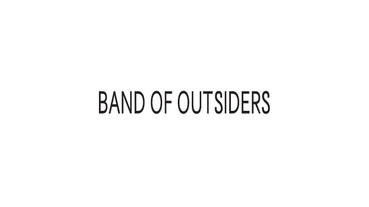嘎然而止? / 美國時裝品牌 Band of Outsiders 面臨營運困境