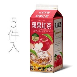 茉莉茶園蘋果紅茶600ml