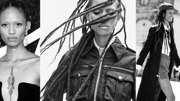 反骨超模!史上第二個登上封面的黑人模特Adesuwa Aighewi