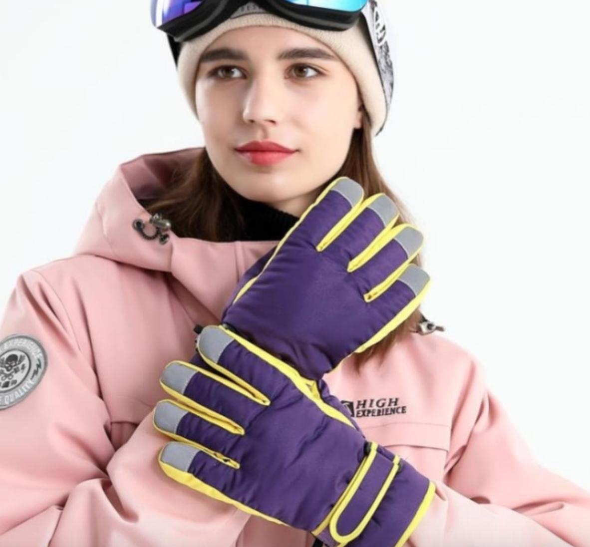 防水防風防寒冬季滑雪手套