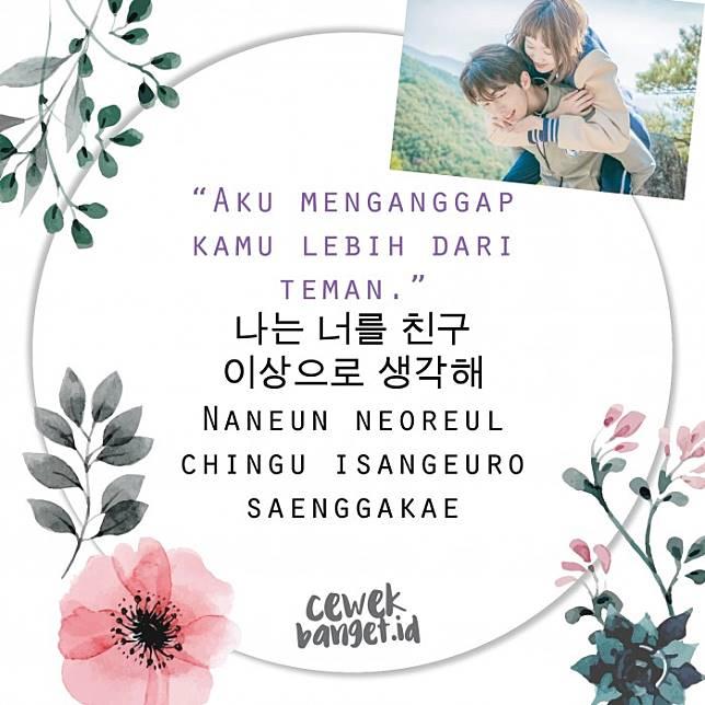 Katakan 11 Ungkapan Cinta Dalam Bahasa Korea Ini Ke Gebetan Cewekbanget Id Line Today