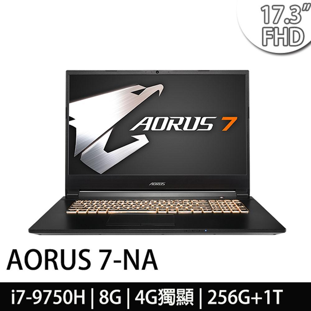 AORUS 7-NA-7TW1021SH●顯示器:原廠LG 17.3 FHD 窄邊框極速144Hz更新率 IPS霧面液晶顯示螢幕●作業系統:Windows 10●處理器:Intel Core i7-9