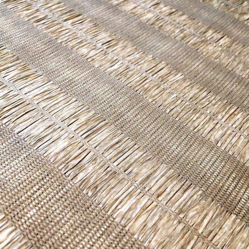 台灣紙茶編茶席 - 綠色 台灣工藝紙編茶席,適用於茶席,室內裝修,居家佈置,包裝及手工藝品, 紙茶席可水洗不會退色(勿用洗衣機洗喔~~) 百分之百台灣製造,不含甲醛及不含偶氮染料,不會對人體產生過敏及
