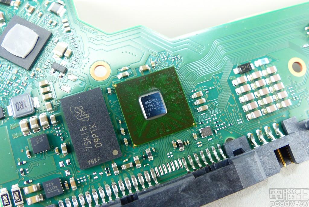 主要控制晶片為 Marvell i1261-B1