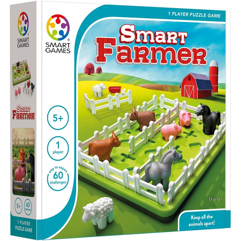 《上誼出版 SMART GAME》益智學習 動物農場 東喬精品百貨