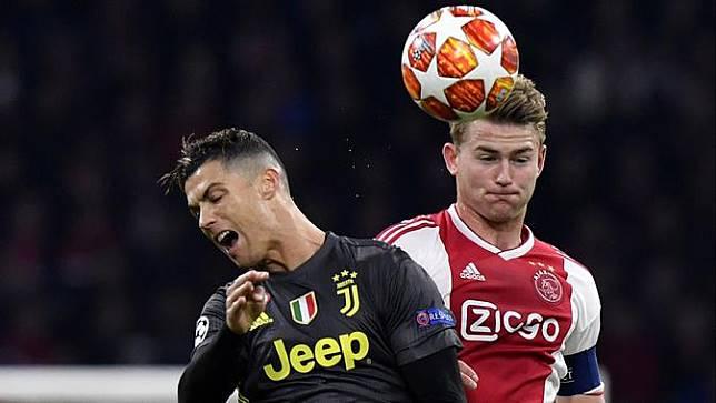 de Ligt Jadi Pemain Belanda Ke 5 yang Jadi Rekan Setim Cristiano Ronaldo