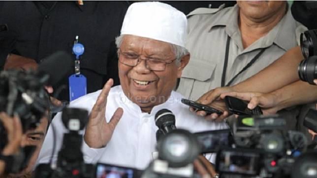 Pendiri Partai Keadilan dan juga Partai Keadilan Sejahtera Hilmi Aminuddin meninggal dunia, Selasa (30/6/2020). (Foto: dok. Okezone).