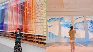 60色漸層畫筆牆、2700坪森林太美啦!桃園「雄獅文具想像力製造所」5大亮點,宛如互動美術館超好玩